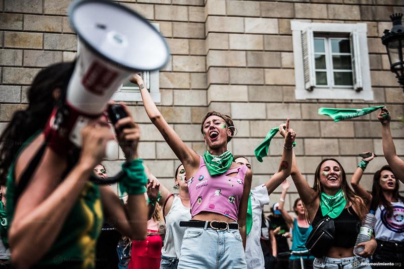 Marcha legalización del aborto 2018